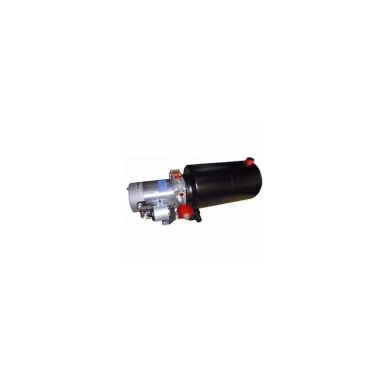 Mini centrale hydraulique 24 VDC - 2200 W - pompe 9.8 cc  - Réservoir 08 L