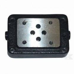 Embase pour 1 electro NG6 - EMBASE NG6 - SORTIE EN DESSOUS 3/8ES3A38P Distributeurs hydraulique 88,80€