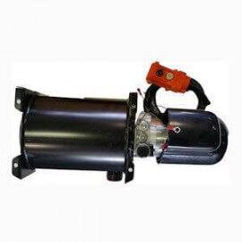 Mini centrale hydraulique S.E - 12 V - 1800 W - pompe 2 cc - Réservoir 8 L Acier 60E08FG120HY Minicentrale 12 VDC - Simple Ef...