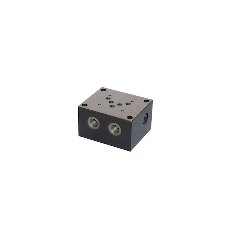Embase simple NG10 - sortie A / B et P / T latérale ES5B12LLY Distributeurs hydraulique