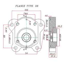 Pompe MANITOU - CASE - MC CORMICK - C25VR / C25SHC25VR MANITOU 389,76€