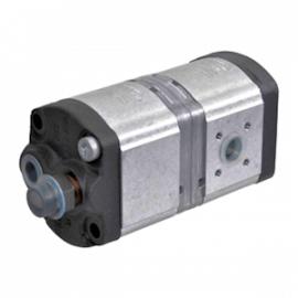 Pompe hydraulique CASE IH - TANDEM - GAUCHE - 11 + 8 CC