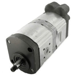 Pompe hydraulique CASE IH - TANDEM - GAUCHE - 11 + 8 CC CASE510565314 Pompe hydraulique 609,60€