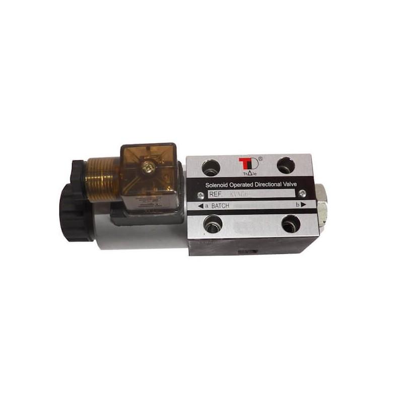 electrodistributeur 12 VCC monostable - NG6 - 4/2 CENTRE OUVERT - en H - N3A. KVNG63A12CCH 76,32 €