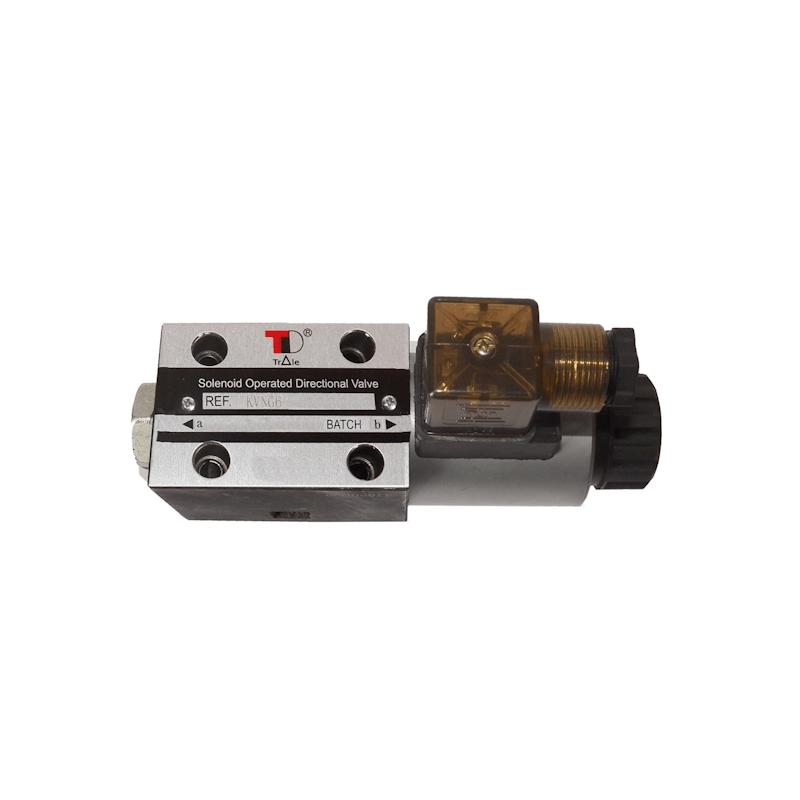 electrodistributeur 24 VCC monostable - NG6 - 4/2 CENTRE OUVERT - en H - N3B. KVNG63B24CCH  78,72€