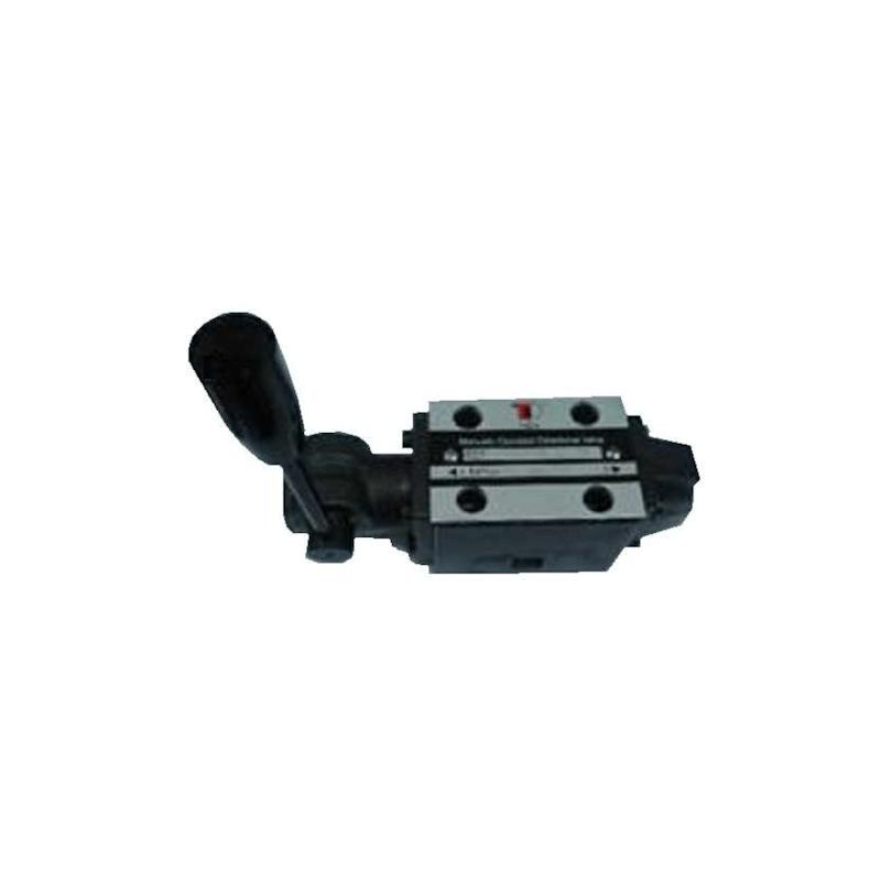 Distributeur a levier avec crantage - NG 6 - 3-2 CENTRE P vers A - B et T FERME - N 41AKVNG6ME41AH   Tiroir N41A -P vers A - ...