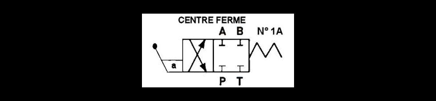 Tiroir N1A - Centre fermé - Au Comptoir Hydraulique