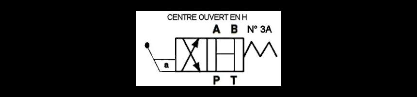 Tiroir N3A - Centre en H