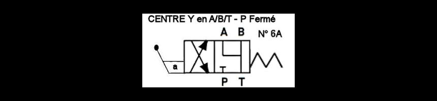 Tiroir N6A - Y en A/B/T - fermé en P