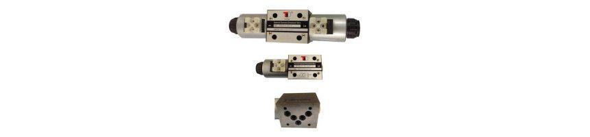 Electrodistributeur NG10 Cetop 5 monostable - Au Comptoir Hydraulique
