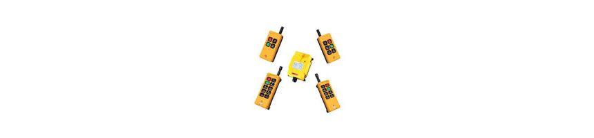 Radio commande pour distributeur hydraulique 12/24 VDC