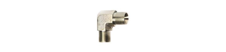 Raccord coude hydraulique male-male 90° MBSP - MC