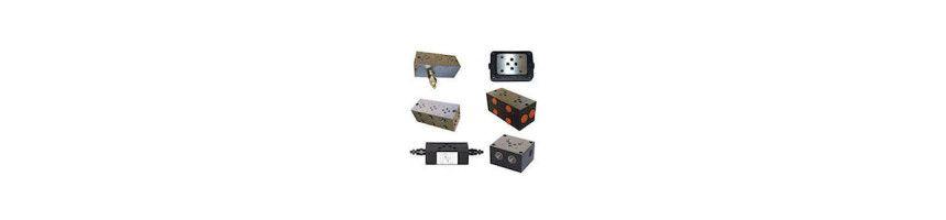 Embase hydraulique pour electrodistributeur
