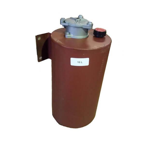 Réservoirs cylindrique équipés.
